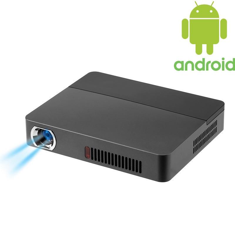 Proyector RD-601 DLP 1600 Lúmenes; sistema operativo Android 4.4, altavoces, Bluetooth 4.0, HDMI, mini VGA, netflix, 1600 lúmenes, 1280 x 800, reproducción USB