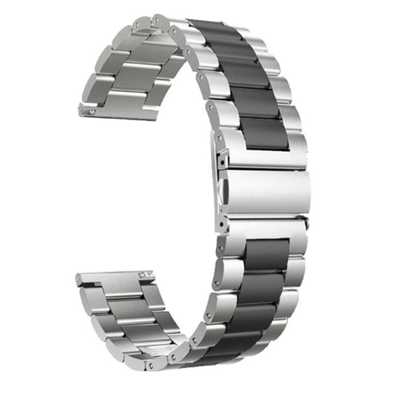Correa de recambio universal de 20mm para smartwatch Metal Eslabones Dual