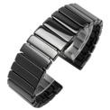 22mm universal ceramic wrist strap for smartwatch
