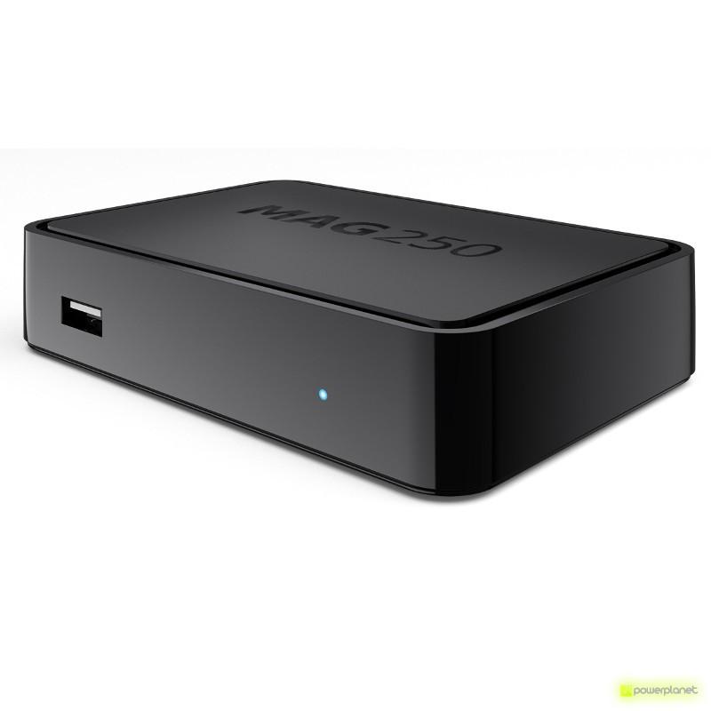 Receptor Satélite MAG250 IPTV TV BOX
