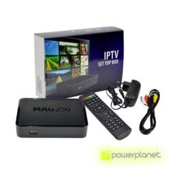 Receptor Satélite MAG250 IPTV TV BOX - Ítem1