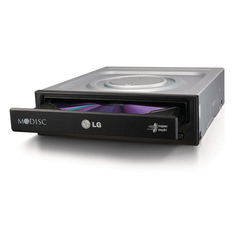 Regrabadora DVD LG SATA GH24NSD1 Black