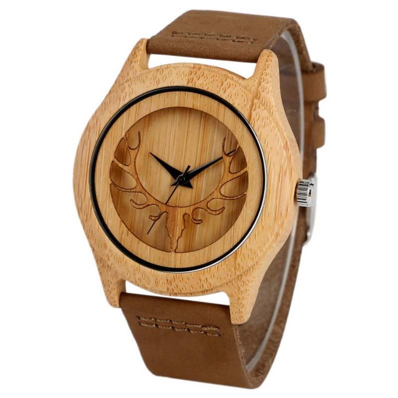 Reloj de Madera Alce