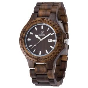 detallado 33576 bc569 Reloj Madera Uwood UW-1005-M