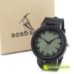 Reloj de Madera Wengué - Ítem4