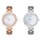 Xiaomi TwentySeventeen Crystal Quartz Wrist Watch Gold - Item6