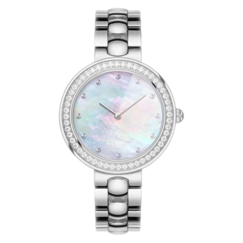 Xiaomi TwentySeventeen Crystal Quartz Wrist Watch Silver