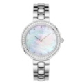 Xiaomi TwentySeventeen Crystal Quartz Wrist Watch Silver