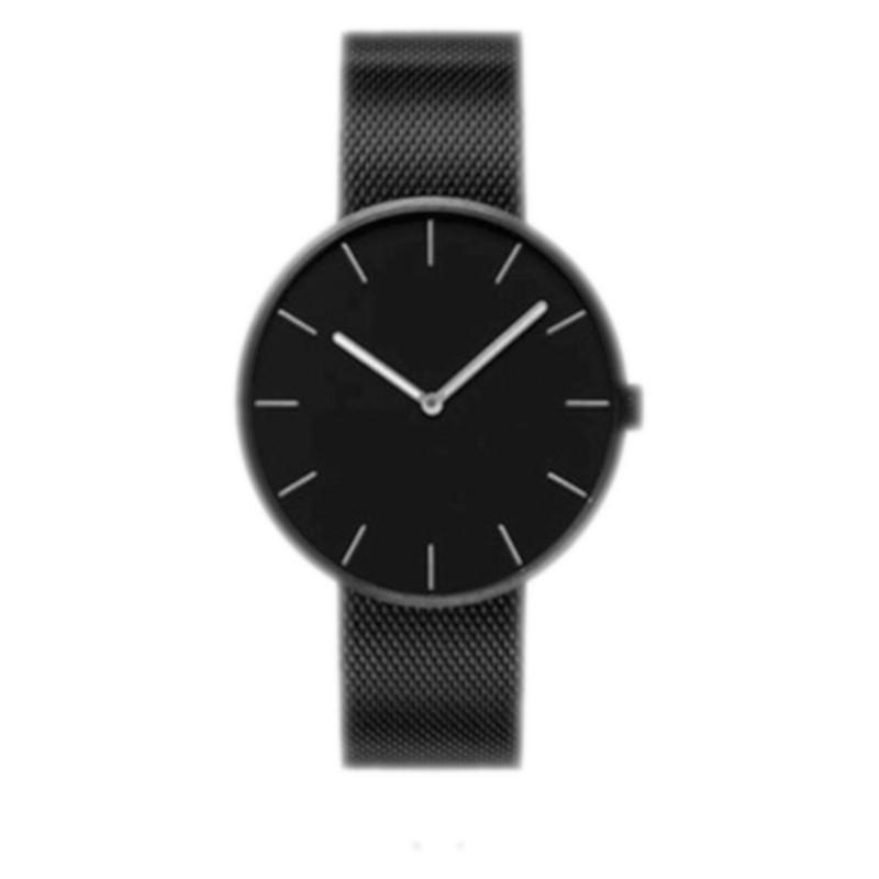 Reloj Xiaomi TwentySeventeen Fashion Quartz Watch 316L Negro / Correa Metal Milanesa Negra