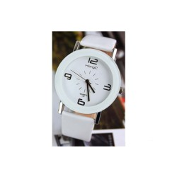 Analogical Clock for Men White Dial Yazole 175 - Item1
