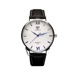 Relógio Analógico de Homem Esfera Branca Yazole 318 - Item2