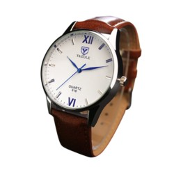 Relógio Analógico de Homem Esfera Branca Yazole 318 - Item1