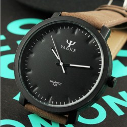 Reloj Analógico de Hombre Esfera Negra Yazole 320 - Ítem1