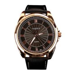 Reloj Analógico de Hombre Esfera Negra Yazole 336 - Ítem2