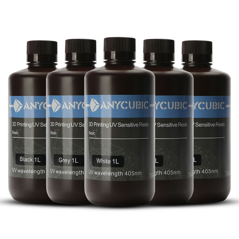Resina Anycubic 450nm Multicolor SLA 500ml