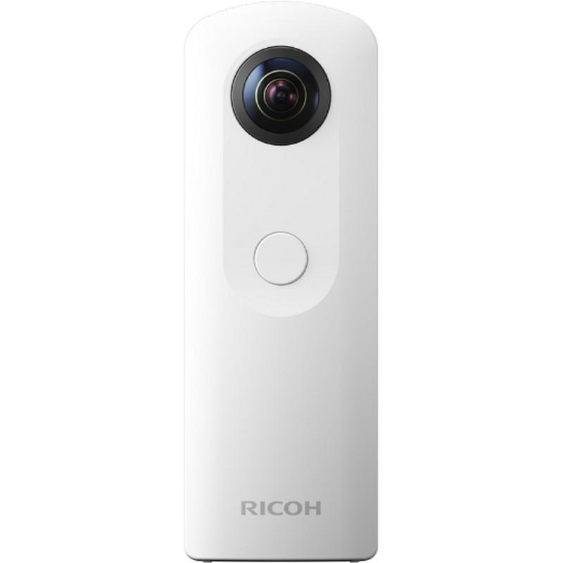 Ricoh Theta SC Blanco - Cámara VR 360º - Color blanco, grabar en 360º, grabar en RV, sensor CMOS