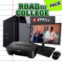 Computador Desktop Intel i5-7400/8GB/120 SSD + 1TB/ Road to College