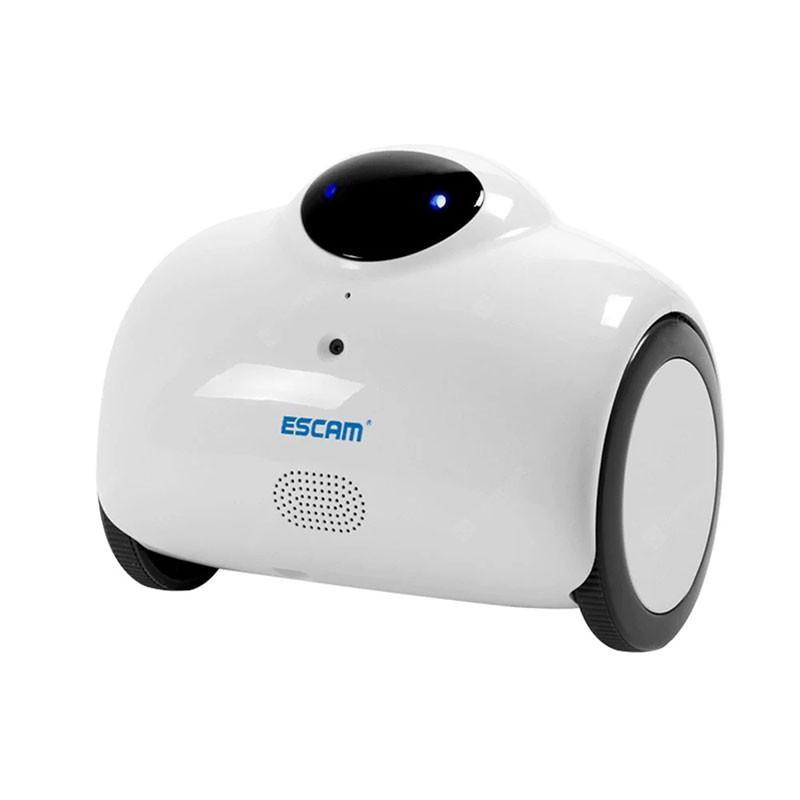 Robot Câmara inteligente IP Wifi Escam QN02 Suporte áudio