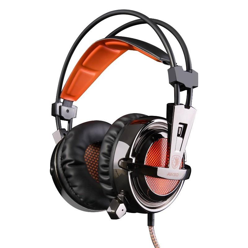 Sades AW30 7,1 USB - Auriculares Gaming