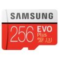 Cartão Samsung SDXC EVO+ 256GB