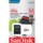 SanDisk MicroSD 64GB Ultra UHS-I + Class 10 Adapter - Gray and white - MicroSDXC - Class 10 - Reading speed: 80 MB / s - Level 4 protection - SD adapter - Item1