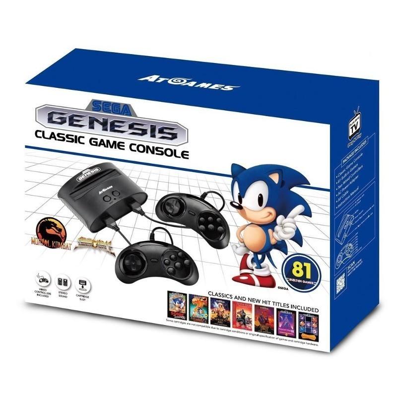 Sega Mega Drive Classic con 81 Juegos