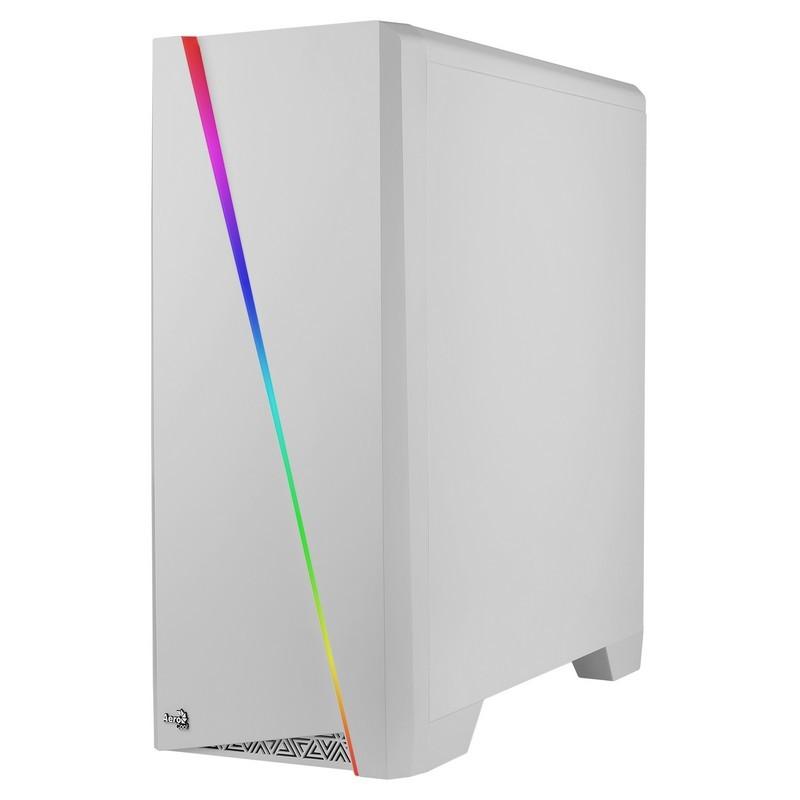 Caixa Aerocool Cylon LED USB 3.0 com janela - cor branca