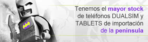 Mayor stock en móviles y tables de importación