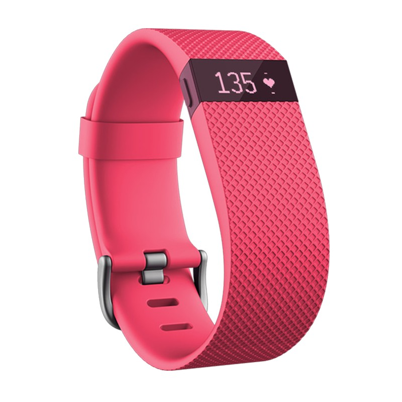 Smartband Fitbit Charge HR Grande Rosa