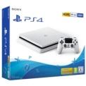 PlayStation 4 Slim 500GB (PS4) Blanco - Color blanco, paquete del producto