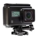 Soocoo S200 4K WiFi - Câmara desportiva - Cor preta - Tela de 2,4 polegadas - Sensor Sony IMX078 - Resolução 4K - Ângulo de 170 graus - 20 Megapixels - Wifi - Estabilizador de imagem - Bateria de 1250mAh
