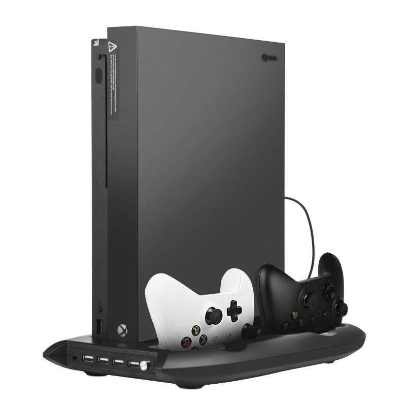 Suporte Pro Xbox One S 4 USB /Estação de Carregamento de Comandos/Ventoinha