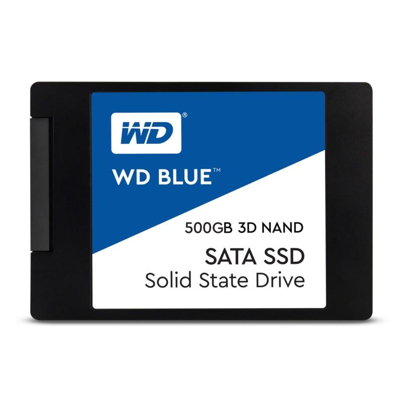 SSD WD Blue 3D Nand 500GB SATA3