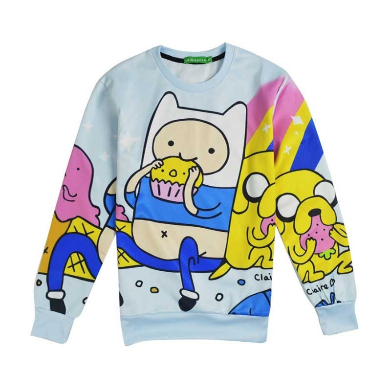 Sudadera Finn the human and Jake the dog