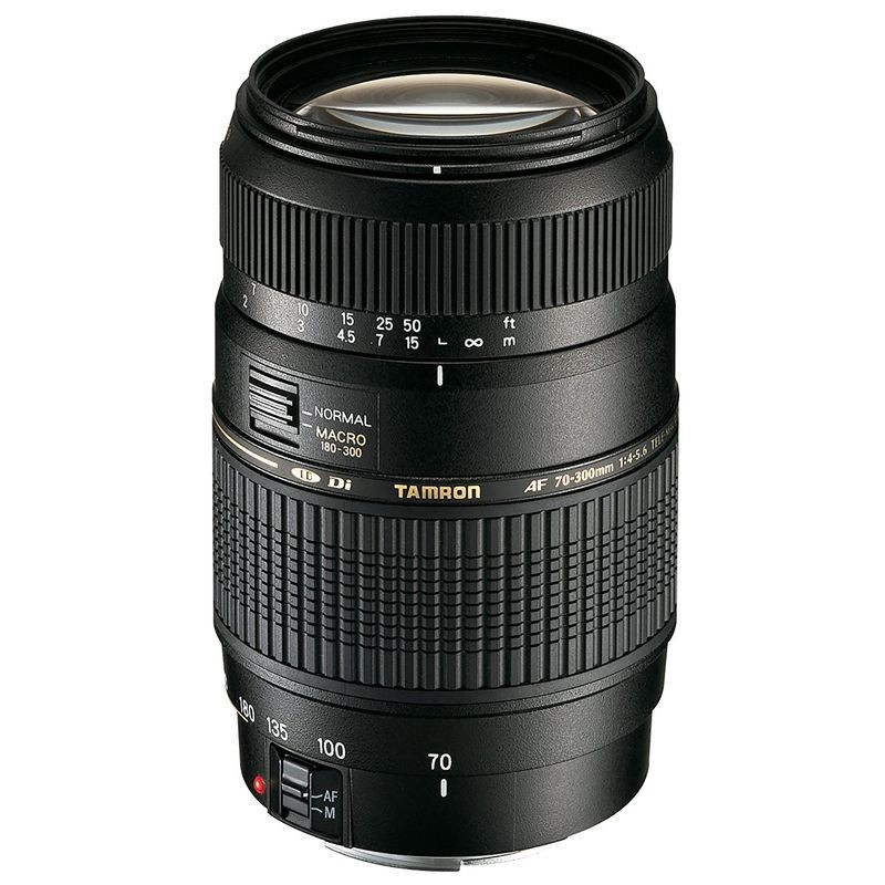 Tamron AF 70-300mm f/4-5.6 Di LD Macro 62mm - Objectiva para Canon