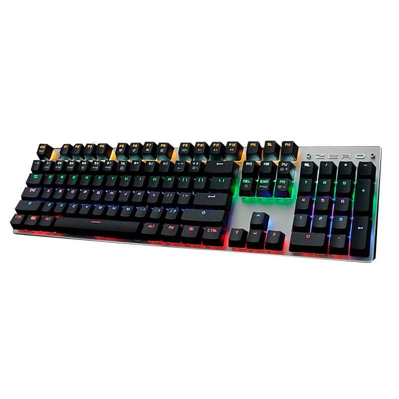 Teclado Color Mecánico MeToo Zero RGB 104 Teclas