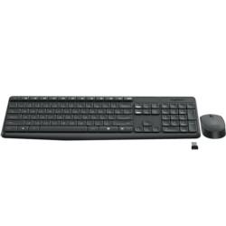 Keyboard + Mouse Wireless Logitech MK235 - Item1