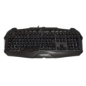 Teclado Mars Gaming MK215 - Design Gaming - Sistema Duplo Software e Hardware - Anti-ghosting - Iluminação RGB7 - 5 Teclas Macro - Cria perfis - Acesso multimédia - Teclas removíveis - Cabo USB banhado a ouro