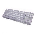 Mechanical Keyboard S100 87 White - Button interface in front