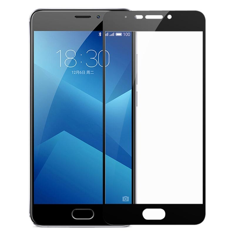 Full Screen tempered glass screen protector para Meizu M6