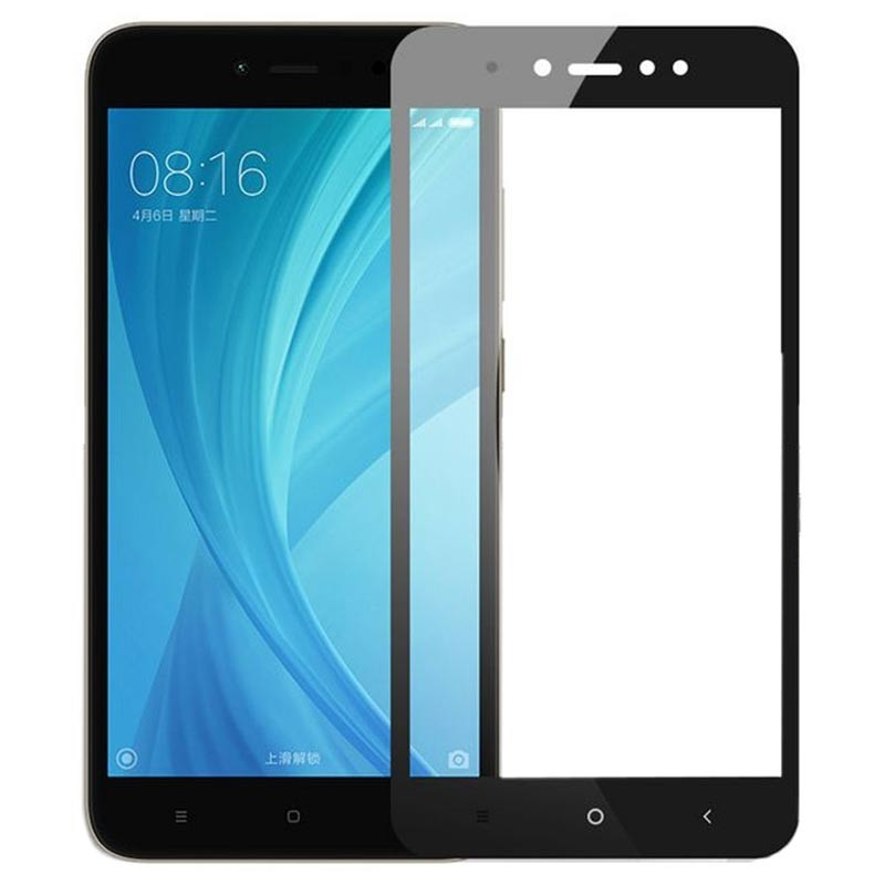 Protector de pantalla de cristal templado Full Screen para Xiaomi Redmi Note 5A Prime Prime