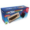 Koch Media The C64 Mini 64 Juegos + Joystick - Recreación Mini del Ordenador Commodore 64 - 64 Juegos Instalados - 2 x Puertos USB - Permite conectar un Segundo Joystick - Teclado con Diseño Clásico (no funcional)