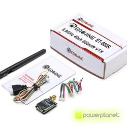 Transmisor FPV Eachine ET600R con Raceband - Ítem3