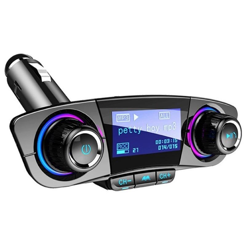 Transmisor M3 Bluetooth FM / MP3 con Pantalla para Coche