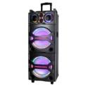Sistema portátil de sonido trolley speaker con función micrófono y guitarra MS-210