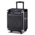 Sistema portátil de sonido trolley speaker con función micrófono y guitarra MS-8E