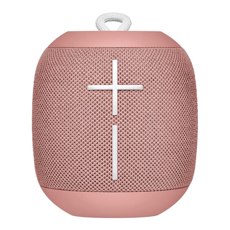 Ultimate Ears WONDERBOOM Rosa Cashmere - Altavoz Bluetoot - Bluetooth - Memoria de Emparejamiento de hasta 8 Dispositivos - Conexión Simultánea con otro AltavozWONDERBOOM - Resistencia al Agua IPX7 - Máximo de 86db - Distancia de hasta 33 metrosV