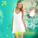 Vestido Blanco Espalda Floral