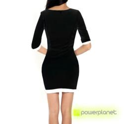Vestido Negro Asimétrico - Ítem2