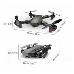 VISUO XS809HW VGA FPV - Drone Plegable - Ítem4